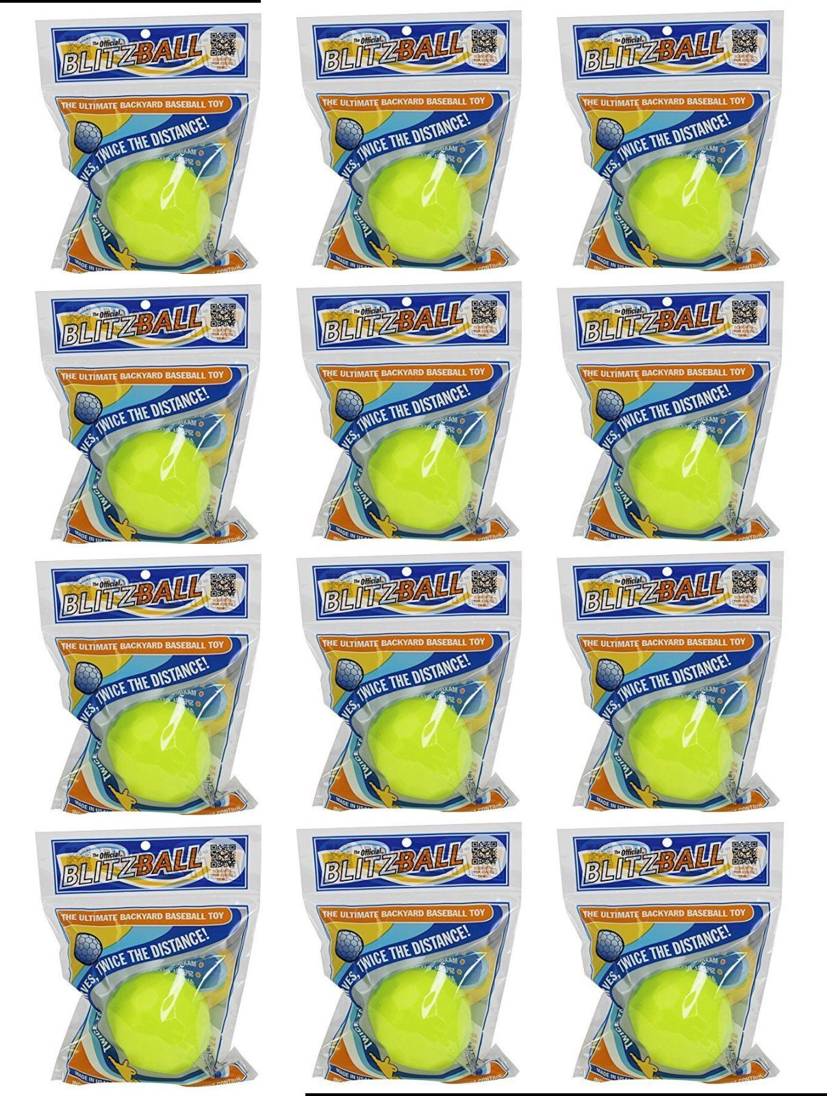 12 pack blitzball the ultimate backyard baseball