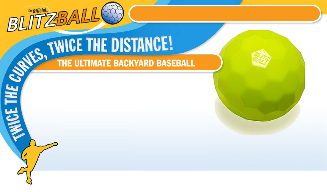 Blitzball - Twice the curves, twice the distance - The Ultimate Backyard Baseball